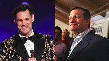 Jim Carrey Fires Back at Ted Cruz Over 'Vampire' Election Painting: 'Sorry I Rattled Your Chain'