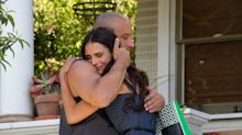 Vin Diesel Hugs It Out in a New 'Fast & Furious 7' Set Photo