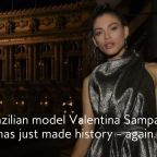 Valentina Sampaio Just Made History as Sports Illustrated's First Transgender Model