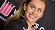 Miley Cyrus Shares Nude Sunbathing Pic With Her Dog on National Puppy Day