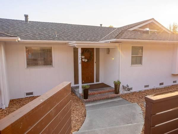 Single Story Ranch House In Santa Cruz Is Completely Updated