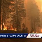 Northern California wildfires continue to burn, forcing evacuations