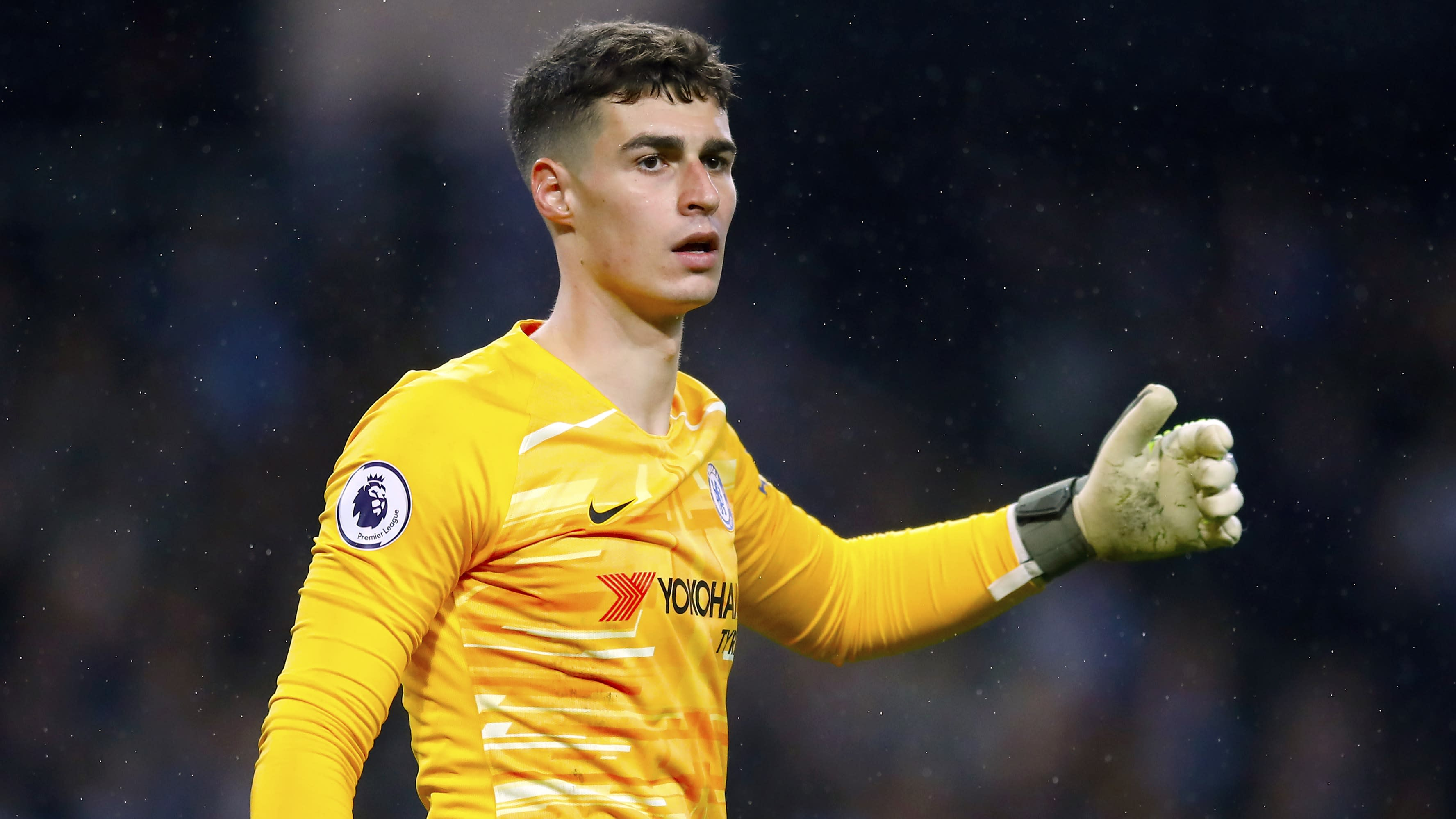Frank Lampard dismisses claims Kepa Arrizabalaga could leave in the summer