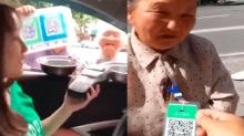 En China, los mendigos utilizan apps y códigos QR para pedir limosna