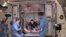 NASA astronauts riding SpaceX capsule poised for weekend return, weatherpermitting