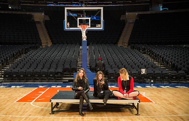 Madison Square Garden Has Unveiled The Results Of A Three Year, $1 Billion  Renovation Program, And As You Can See From The Ladies Above, Itu0027s A  Thrilling ...