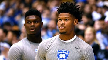 NBA rookies think Cam will be better than Zion