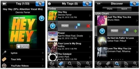Shazam updates for iOS 4.0, adds subscription model for Encore features
