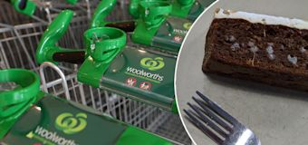 Woolies customers sick over 'mouldy' cake slices