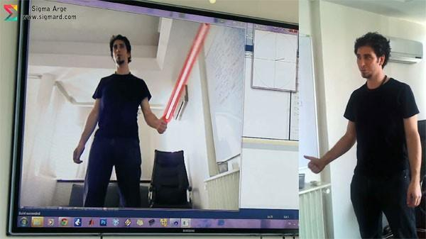 Sigma R&D shows Kinect sign language and Jedi savvy to win gesture challenge (video)