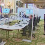 G7 partners talk China, Russia