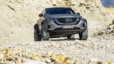 Mercedes-Benz發表越野級高性能EQC 4x4²純電概念車