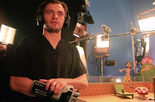 Robot Chicken animator uses modded Power Glove for work