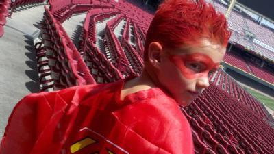 Reds Get Super Hero Help From 7-Year-Old