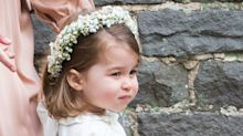 Princess Charlotte Was the Cutest Bridesmaid