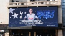 Alex Morgan signs for Tottenham in remarkable coup for WSL