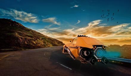 電動車的下一步 可能是結合人工智能的飛行汽車