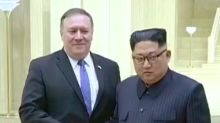 NEWS BITES: Pompeo: U.S. will lift sanctions if N. Korea ends nuclear program, Edu. Dept. unwinds for-profit college investigations: NYT, WHO looks to eliminate trans fats worldwide by 2023