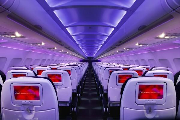 Virgin America and Lufthansa Systems unveil new in-flight entertainment system coming in 2012