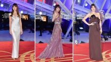 Dakota Johnson demonstriert die hohe Kunst festlicher Partykleidung auf dem roten Teppich