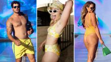 Fans react to hairy armpits, cellulite and dad bods at swimwear show