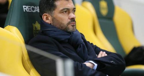 Foot - L1 - Nantes - Sergio Conceiçao (Nantes) : «100% pour la liberté de la presse, 100% pour ma liberté de ne pas répondre aussi»