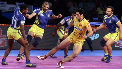 Pro Kabaddi: Tamil Thalaivas Register Maiden Win vs Telugu Titans