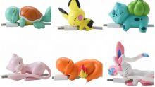 日本《Pokémon》電話線保護套 奇異種子/車厘龜超可愛