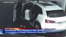 Video of suspects in deadly Chicago restaurant shooting released by police