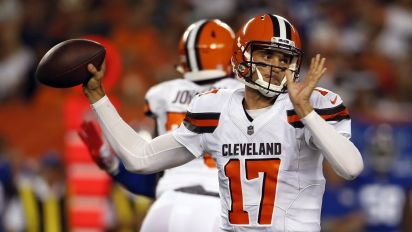 Cleveland Browns still searching for an answer at quarterback