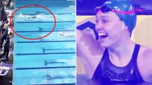 Aussie teenager makes swimming history with insane world record