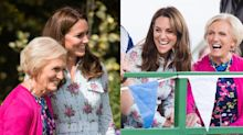 Kate Middleton Collaborating with Mary Berry on Christmas Cooking Show