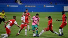 Lionel Messi Nets 2 In 2nd Friendly Under Ronald Koeman as Luiz Suarez, Arturo Vidal are Left Out
