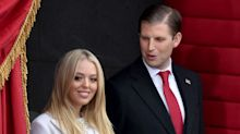 Eric Trump Jokes About Tiffany Day-Drinking While Complaining About Congress (Even Though Their Dad Doesn't Like Alcohol)