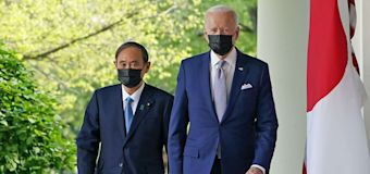 President Biden meets with Japan's Prime Minister