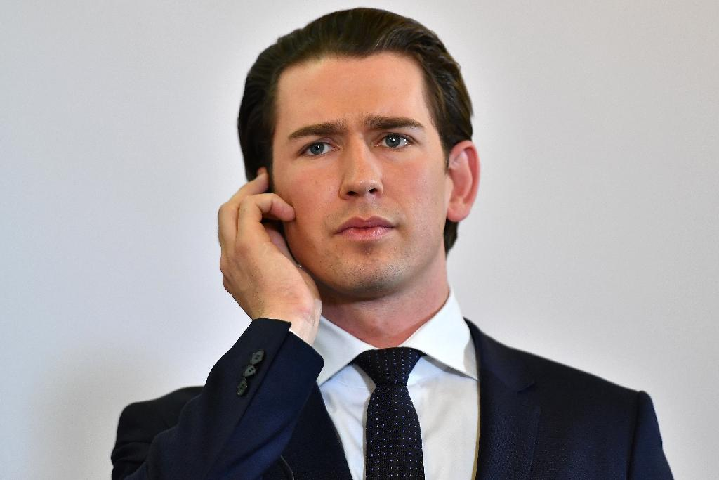 Austrian Chancellor Sebastian Kurz says tensions have grown in the EU since the migrant crisis (AFP Photo/JOE KLAMAR)