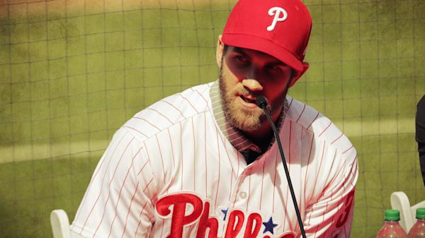 finest selection 67680 d8080 Bryce Harper jerseys sets 24-hour sales record