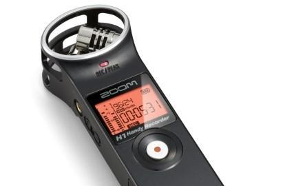 Zoom H1 Handy Recorder captures 24-bit, 96 kHz stereo for $99