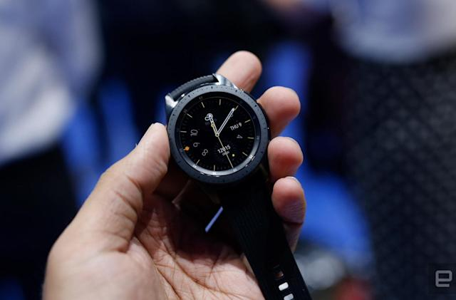 You'll have to pay $50 more for Samsung's LTE Galaxy Watch