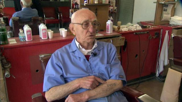 Barber's job saved his life at Auschwitz