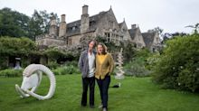 Inside the sprawling Cotswolds house where the Mitfords grew up - and which is now packed with sculptures