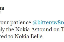 Nokia Astound owners face a Belle-less future, no update coming