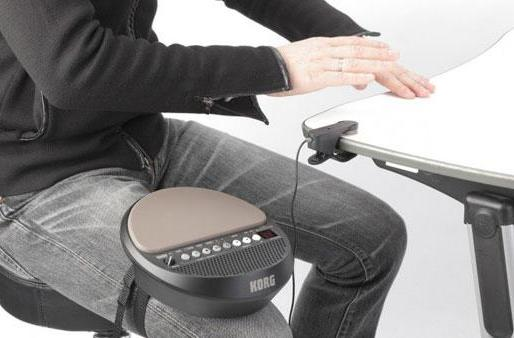Korg Wavedrum Mini makes music from your nervous tics (video)