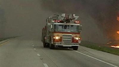 Brush Fire Leads To I-95 Closures
