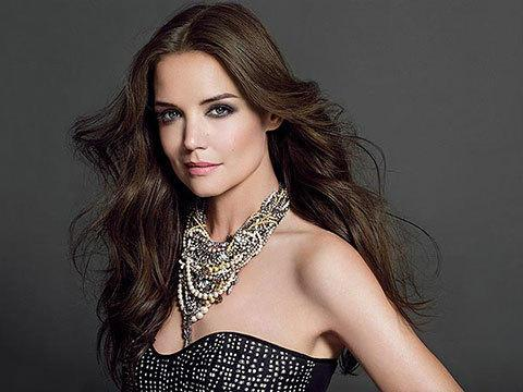 Katie Holmes Stuns in Debut Bobbi Brown Beauty Ad