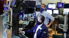 Stock market news live updates: Stock futures fall as tech shares dip, Treasury yields jump