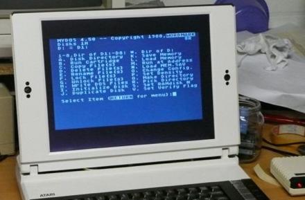Atari 1500XL laptop mod: the best of 80's tech in a convenient modern form factor