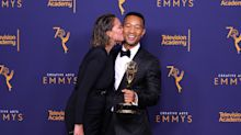 John Legend just became the first black man to become an EGOT winner — and Chrissy Teigen couldn't be prouder