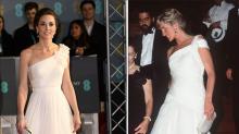 ¿Kate Middleton utiliza la imagen de Lady Di?
