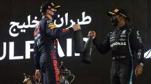 Hamilton holds off Verstappen to win tense F1 season-opener